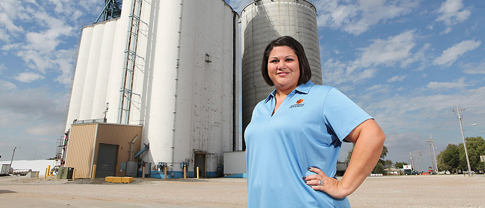 Sarah Olsen, Cooperative Grain and Supply