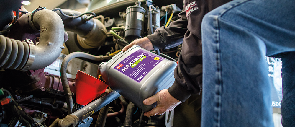 Cenex® Maxtron® diesel engine oils increase fuel economy up to 3% in extreme conditions and up to 2% in normal conditions.
