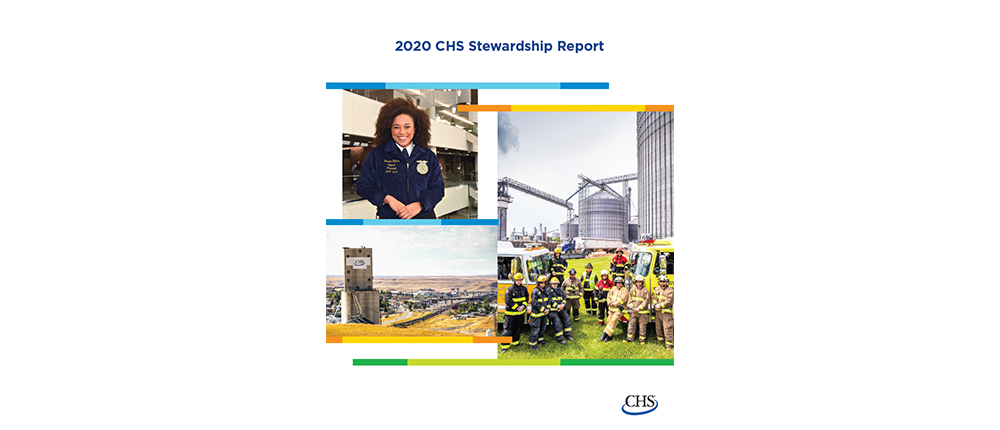 CHS Stewardship Report Cover