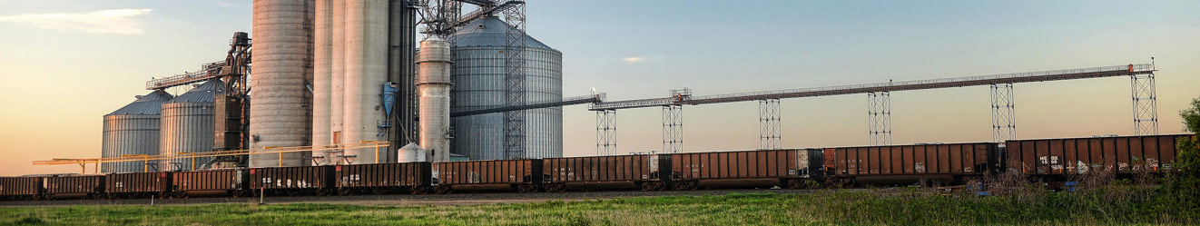 Cooperative and grain bins