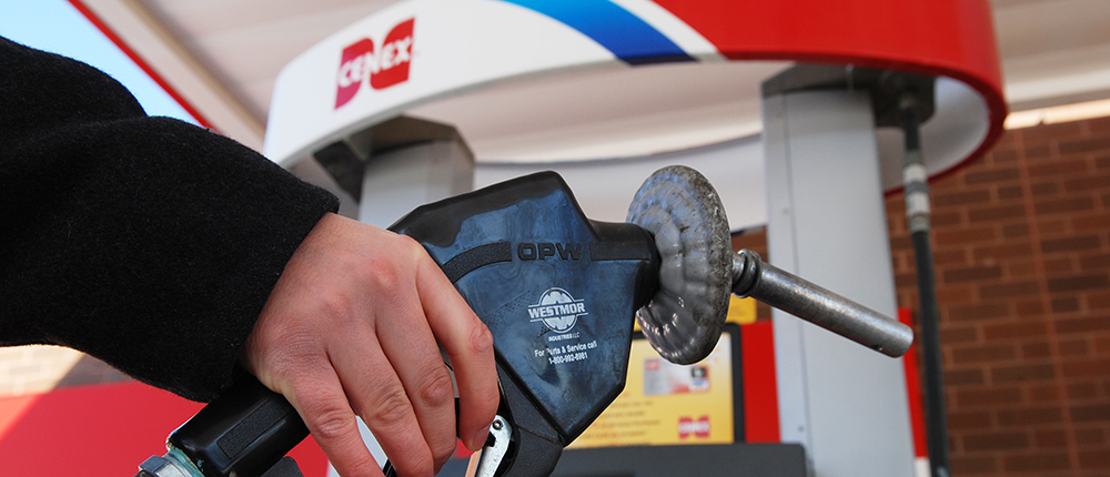 Fuel, fuels, energy, energy fuels, hand holding pump, cenex, gas station, Energy and industrial, industrial, gas pump, 1000x430
