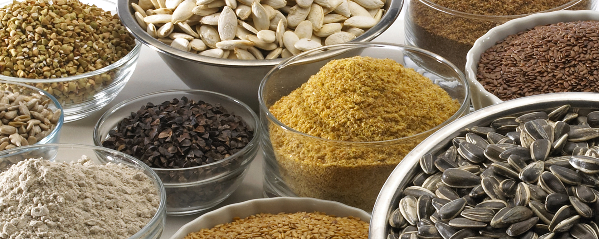 Food Ingredients, 1920x768, soybeans, sunflowers seeds, Food, Wheat Flour