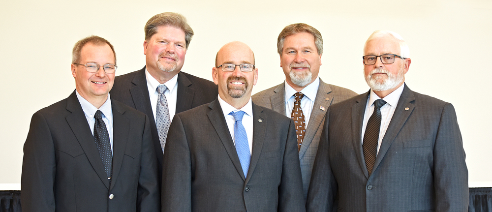 Newly elected and re-elected CHS Board of Directors