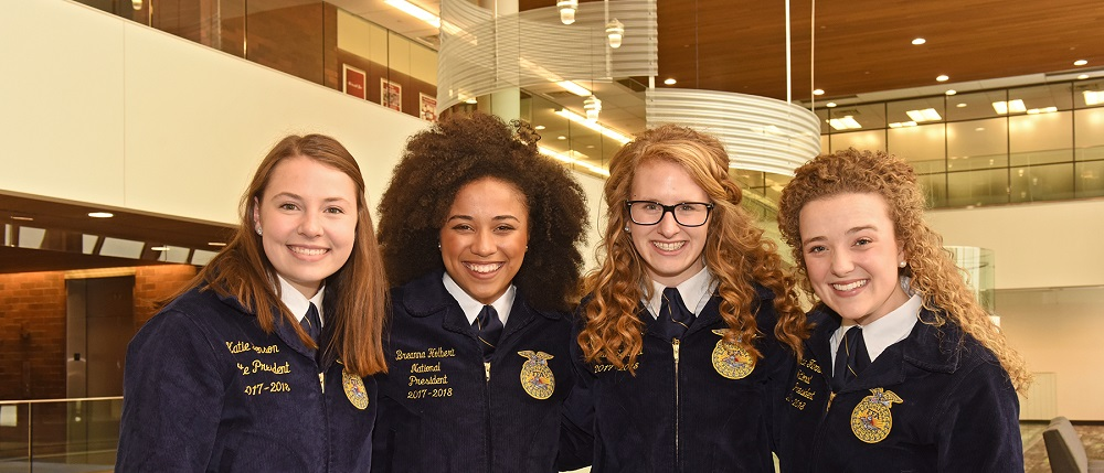 Female FFA officers